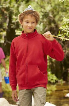 Dětská mikina Kids Premium Sweat Jacket se zipem - Výprodej