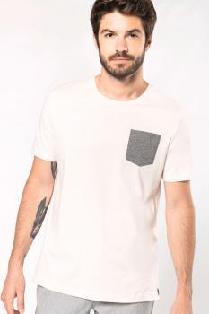 Organické tričko s kapsičkou - zvětšit obrázek