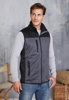 Pánská softshellová vesta Tri-color - Výprodej