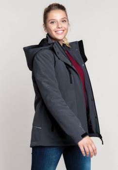 Dámská softshellová bunda Lined Hooded Parka