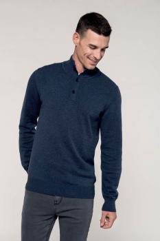Pánský svetr na knoflíčky - Výprodej