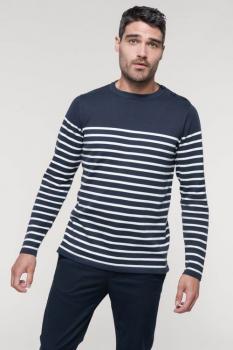 Pánský pruhovaný svetr