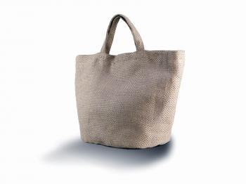 Moderní natural jutová taška