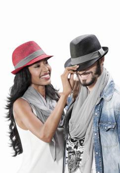 Barevný klobouk