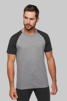 Pánské sportovní tričko Two-tone sport short sleeve - Výprodej