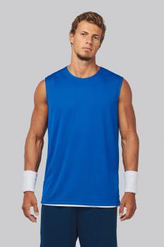 Basketbalový dres - oboustranné tričko bez rukávů - zvětšit obrázek