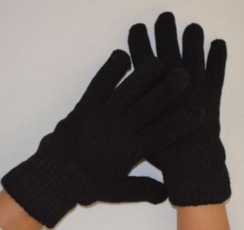 Teplé prstové rukavice