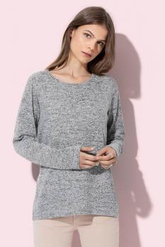 Dámský lehký úpletový svetr - zvětšit obrázek