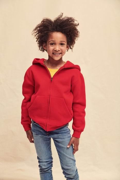 Dětská mikina Premium Hooded s kapucí a zipem - zvětšit obrázek