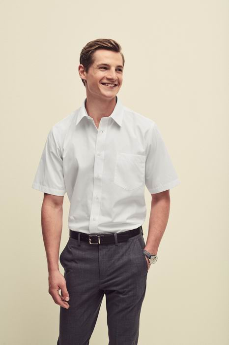 Pánská popelínová košile kr.rukáv Short Sleeve Popelin Shirt - zvětšit obrázek