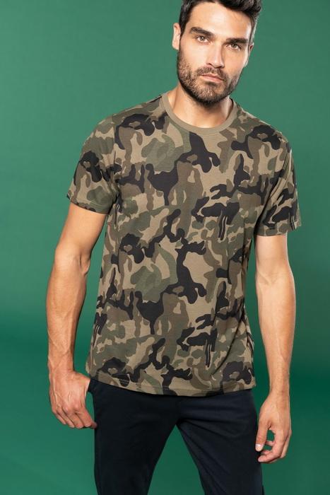 Pánské tričko Camo camouflage - zvětšit obrázek