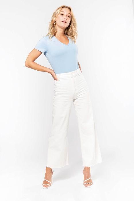 Dámské tričko kr.rukáv V-neck - zvětšit obrázek