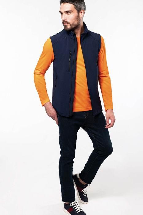 Pánská softshellová vesta - zvětšit obrázek
