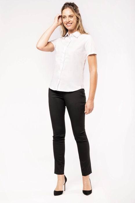 Dámská košile oxford s krátkým rukávem - zvětšit obrázek