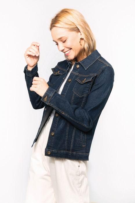 Dámská džínová bunda - zvětšit obrázek