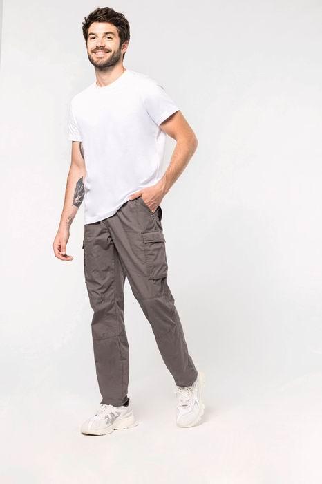 Pánské letní kapsáčové kalhoty - zvětšit obrázek