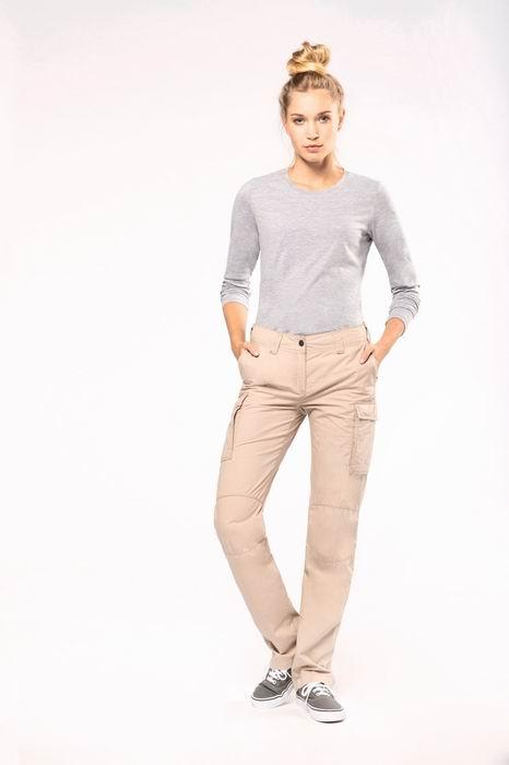 Dámské letní kapsáčové kalhoty - zvětšit obrázek