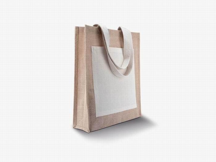 Nákupní jutová taška - zvětšit obrázek