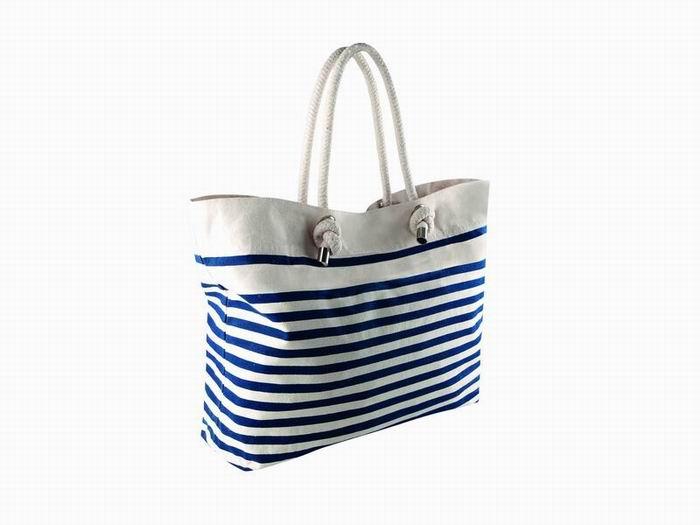 Pruhovaná plážová taška Sailor Bag - zvětšit obrázek