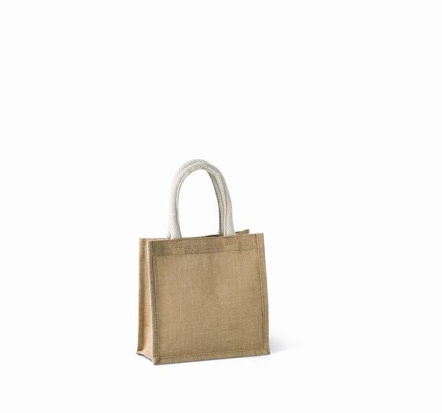 Jutová nákupní taška - malá - zvětšit obrázek