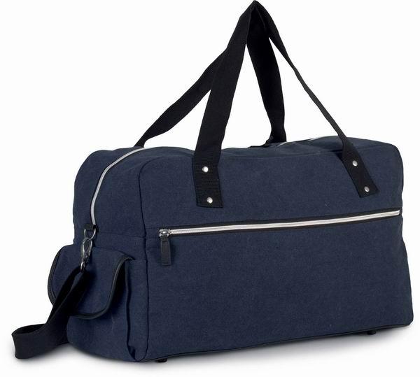 Cestovní taška z bavlněného plátna - zvětšit obrázek
