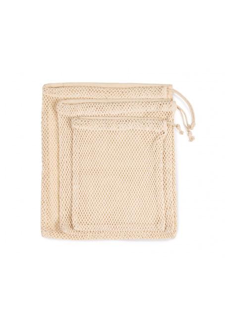 Síťovaná taška se stahovací rukojetí - zvětšit obrázek