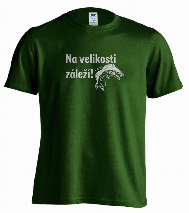 Pánské rybářské tričko s potiskem - zvětšit obrázek