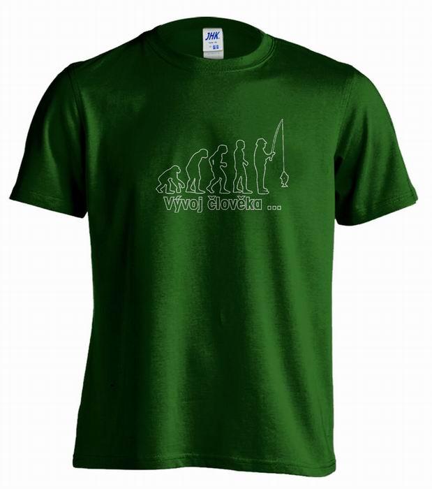 Pánské tričko - Vývoj člověka... - zvětšit obrázek