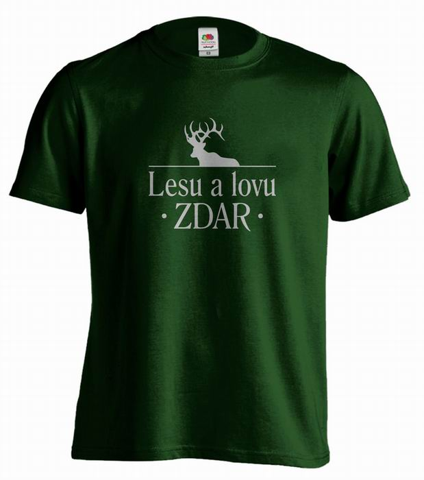Pánské tričko - Lesu a lovu ZDAR - zvětšit obrázek