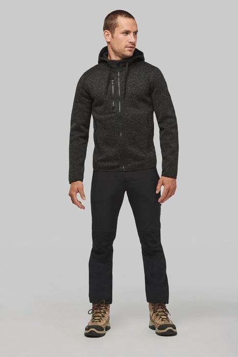 Pánská mikina s kapucí Men s heather hoodie - zvětšit obrázek