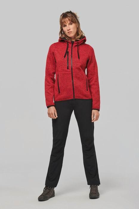 Dámská mikina s kapucí Ladies' heather hoodie - zvětšit obrázek