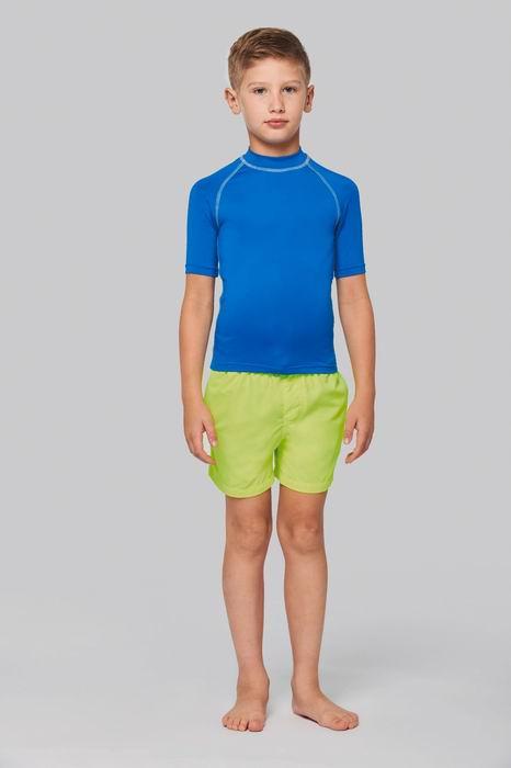 Dětské tričko proti slunci s UV filtrem - zvětšit obrázek