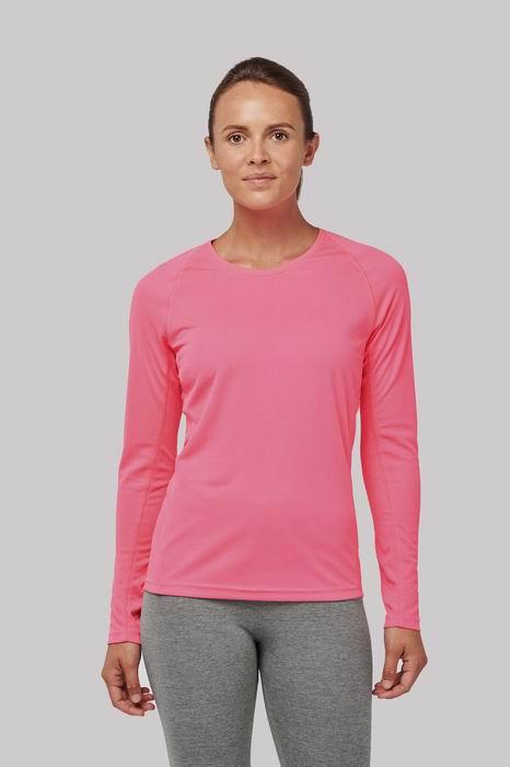 Dámské sportovní tričko dlouhý rukáv - zvětšit obrázek