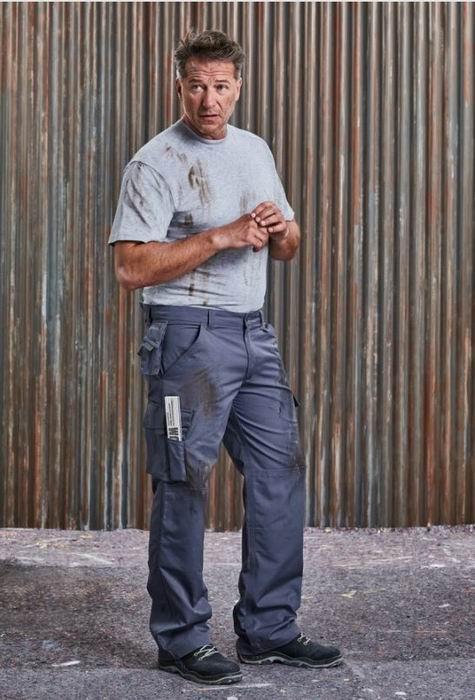 Pánské pracovní kalhoty Heavy Duty střední - zvětšit obrázek