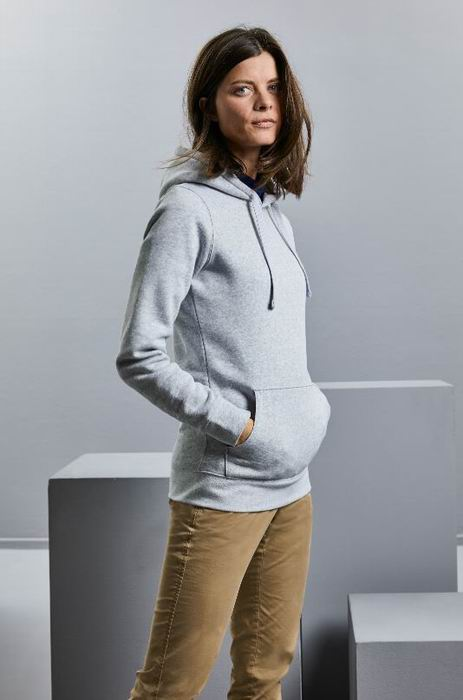 Dámská mikina s kapucí Authentic Hooded Sweatshirt - zvětšit obrázek