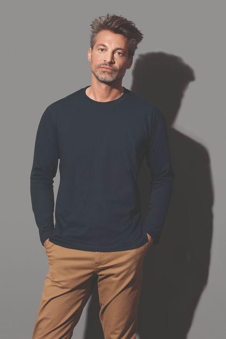 Pánské tričko Classic-T dlouhý rukáv - zvětšit obrázek