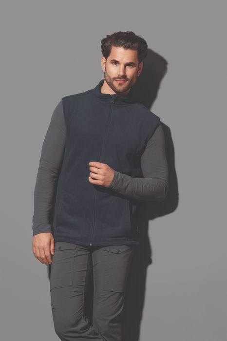 Pánská fleecová vesta Active - zvětšit obrázek