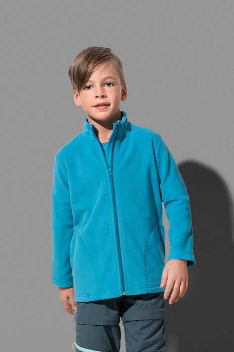 Dětská fleecová mikina Active - Výprodej - zvětšit obrázek