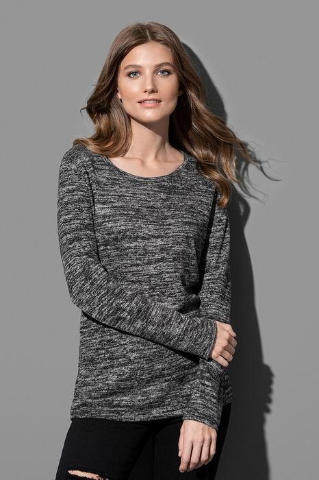 Dámský lehký úpletový svetr - Výprodej - zvětšit obrázek