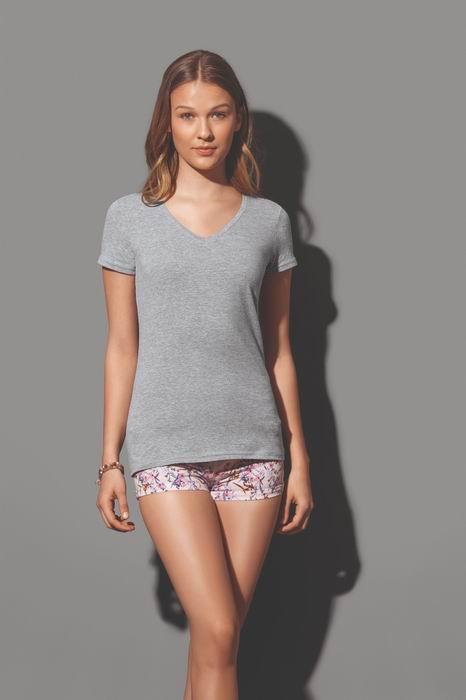 Dámské tričko CLAIRE V-neck - zvětšit obrázek