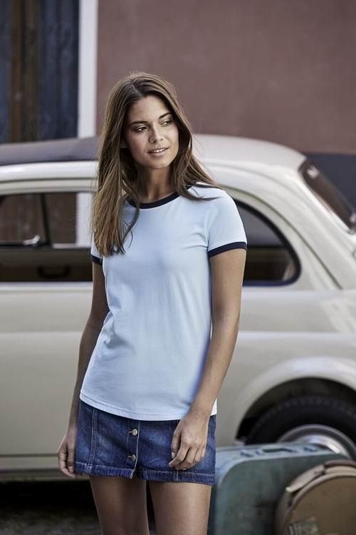 Dámské tričko Ringer Tee - zvětšit obrázek
