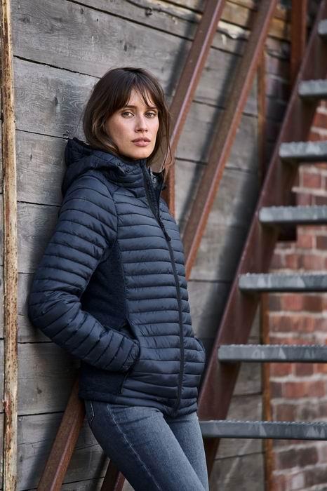 Dámská bunda Ladies Hooded Outdoor Crossover - zvětšit obrázek